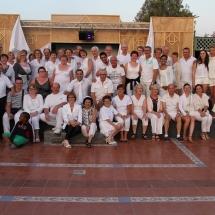 le groupe en sejour dansant au maroc